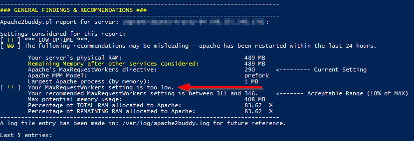 Tuning apache2 with apache2buddy - Idea 11