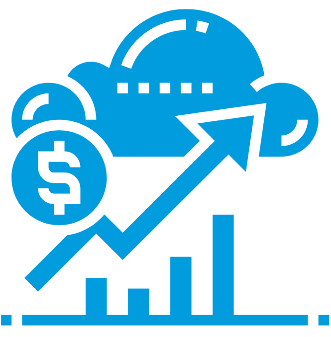 icon-aws-cloud-migration-chart-money-cloud